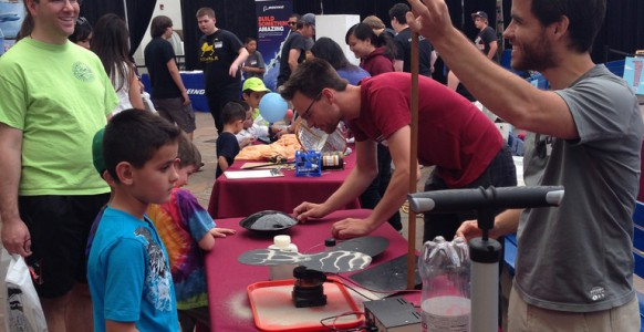 Space Day- Physics Demos