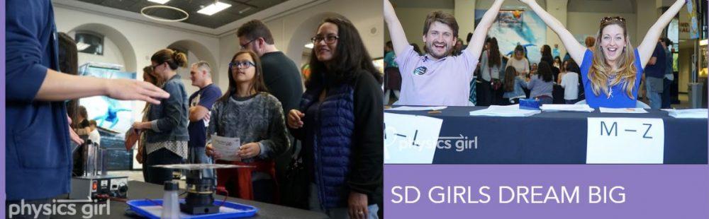 Undergraduate Women in Physics at UCSD